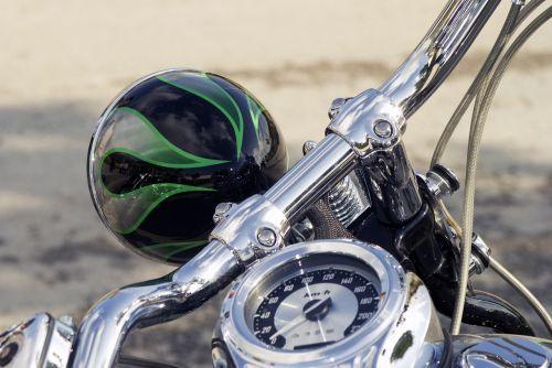 motorcycle chopper motorbike