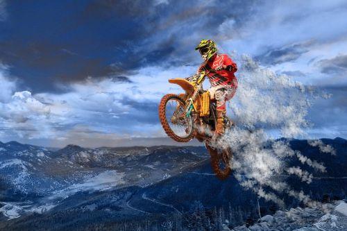 motociklas,šokinėti,veiksmas