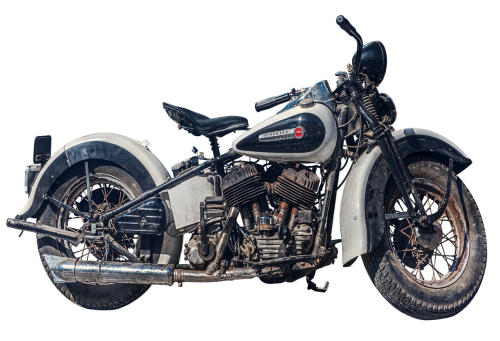 motorcycle old harley davidson