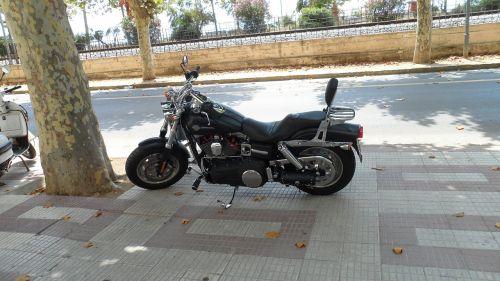 motorcycle bikers street