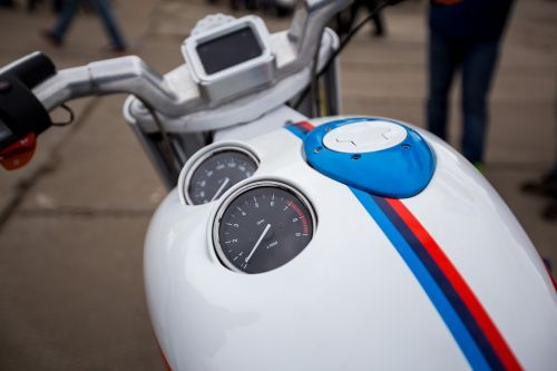motorcycle tank dashboard