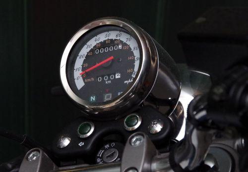 motorcycle speedometer dashboard