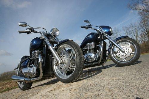 motorcycle  motorbike  custom