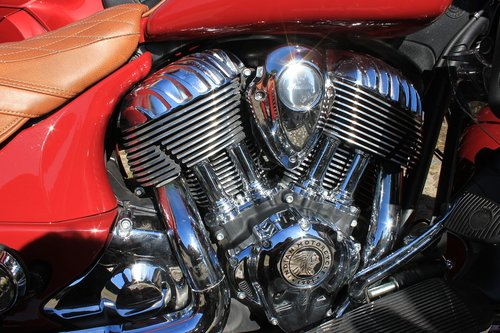 motorcycle  chrome  cylinder