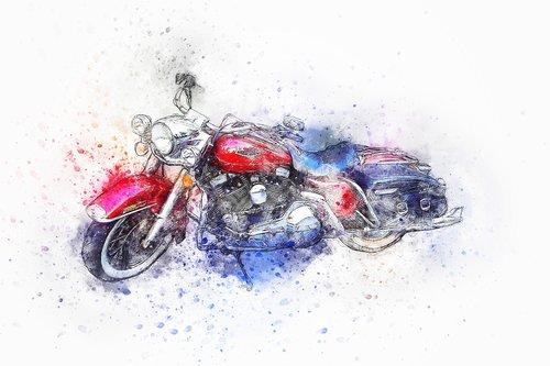 motorcycle  bike  harley