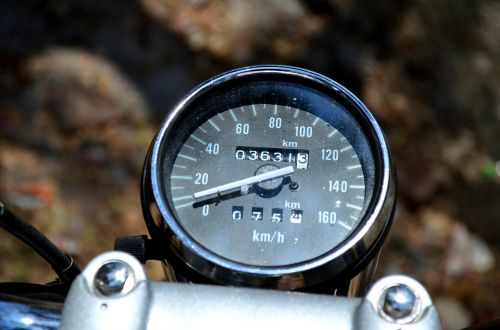 motorcycle speedometer speed