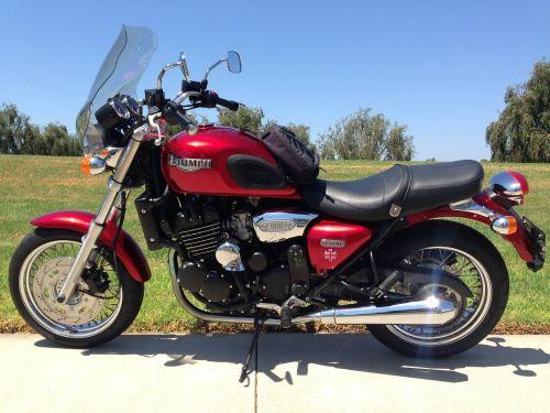 motorcycle motorbikd red