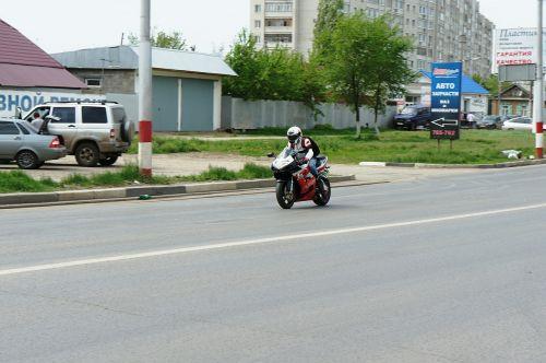 motorcycle biker road
