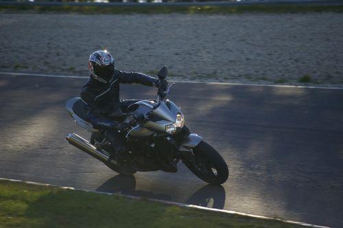 motorcycle nürburgring evening