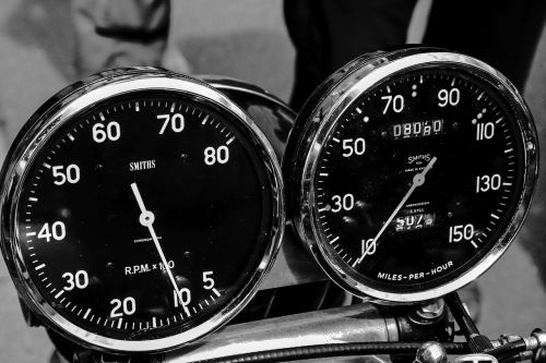 motorcycle tachometer speedo
