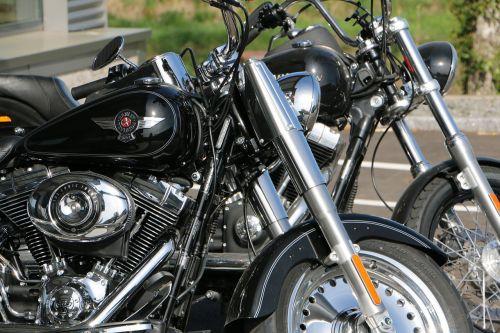 motorcycle harley davidson chrome