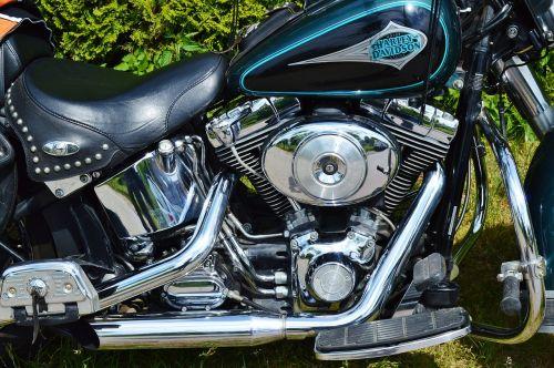 motorcycle harley davidson motor unit