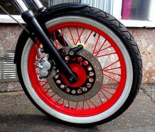 Motorcycle Front Spokes Wheel