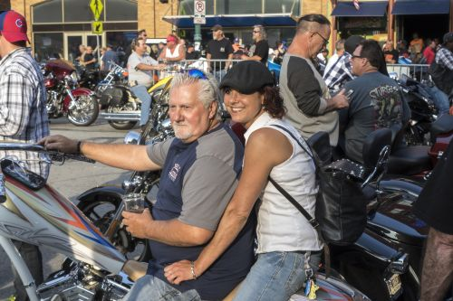 Motorcycles On Meridian