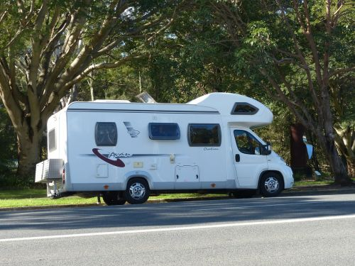 motorhome camper holiday