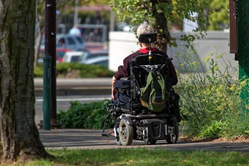 motorized wheelchair wheelchair elderly