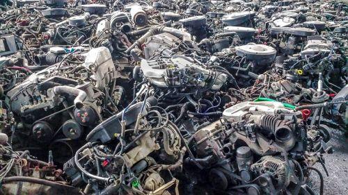 motors scrap machines
