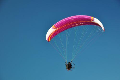motorsegler screen paragliding