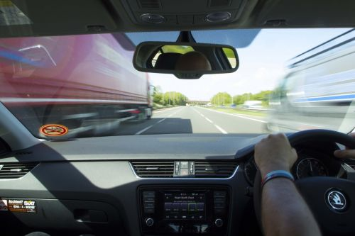 motorway drive highway