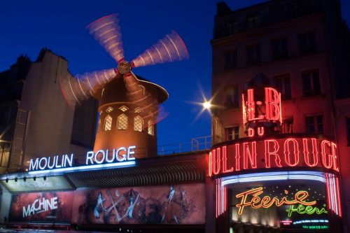 moulin rouge paris night