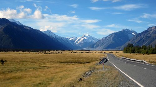 mount cook mountains southern