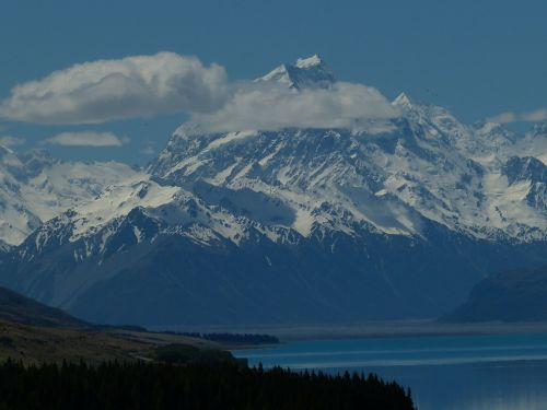 mount cook new zealand nature