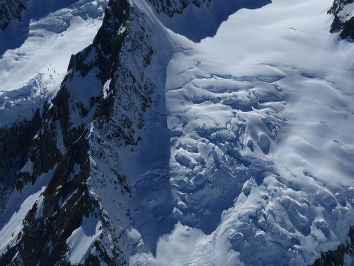 mount cook glacier new zealand