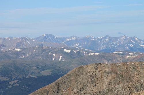 mount evans colorado scenery