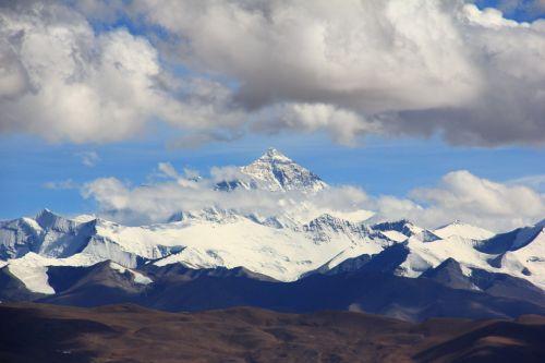 mount everest himalayas lhotse