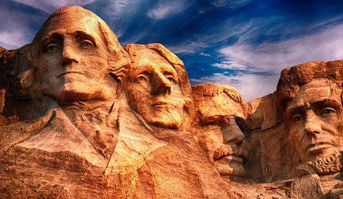 mount rushmore  sculpture  monument