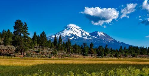 mount shasta california volcano