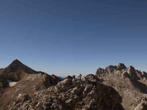 mountain picos de europa red horcados