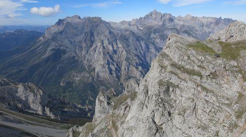 mountain picos de europa cornion