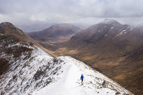 mountain walking trekking