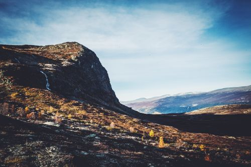 mountain norway landscape