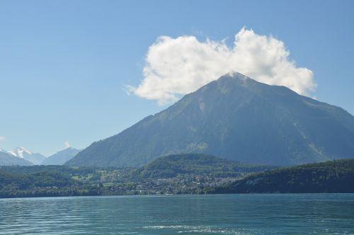 mountain lake to sneeze
