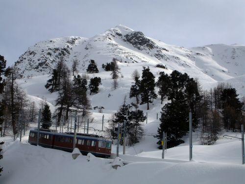 mountain cogwheel train switzerland