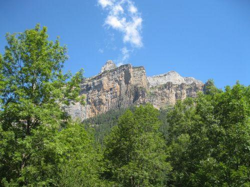 mountain pyrenees landscape
