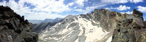 mountain panorama mountaintop
