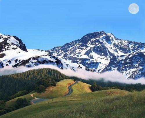 mountain landscape scenery