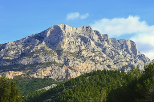 mountain france aix in provence