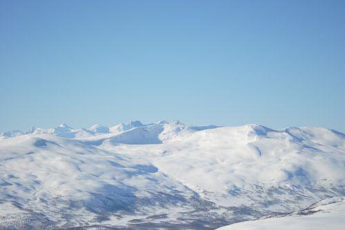 mountain snow views
