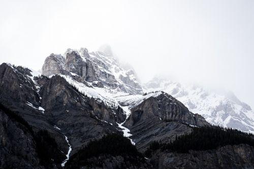 mountain snow mountain range