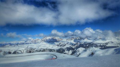 mountain dolomite alps