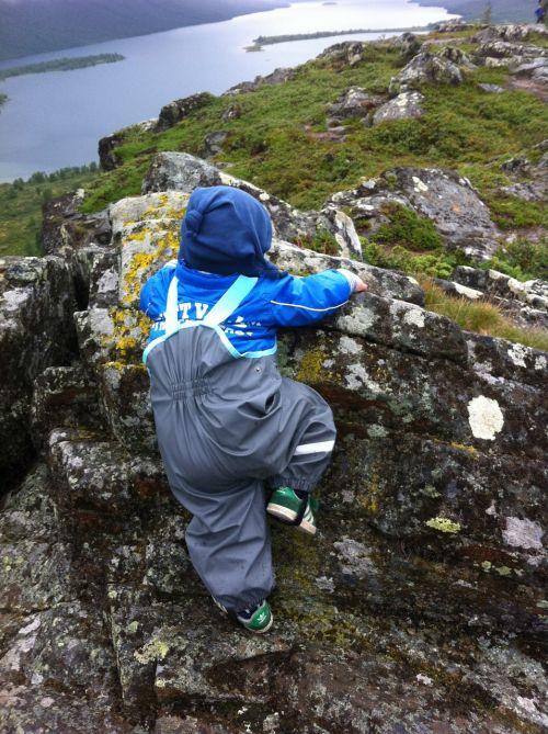 mountain climbing climber