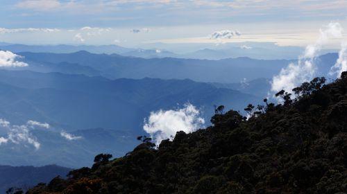 mountain kinabalu borneo