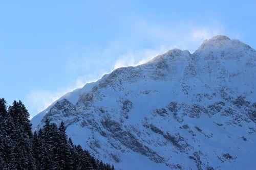 kalnas,sniegas,rau,kraštovaizdis,žiemos saulė,žiema,sniego kraštovaizdis