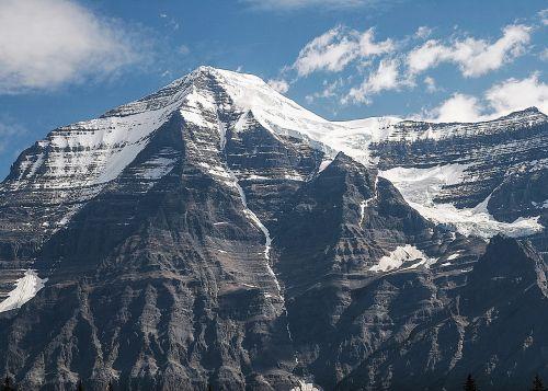mountain,sky,landscape,blue,outdoors,rock,peak,mountain top,nature landscape,inspiration,inspirational landscape,mountain landscape,canada,mount robson,canadian