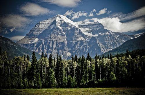 mountain peak mountain range