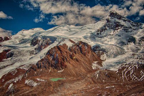mountain glacier ice